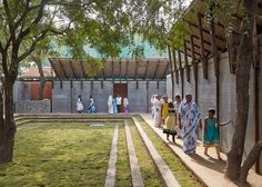sameep padora and associates jetavan centre india designboom