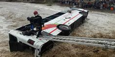 En raison des fortes pluies, un bustransportant 52 voyageurs vers Safi s'est renversé sur le pont Oued Laksab, près de Tamansourt. Tous les...