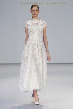 Vestidos de novia Hannibal Laguna 2017: los diseños tradicionales son tendencia