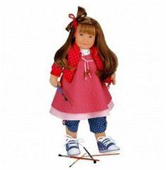 Käthe Kruse 54901 - Lolle Ro x ana doll with soft body 54 cm: Amazon.de: Toys