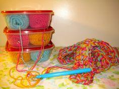 Yarn Holder DIY | Chatter Box Jenn