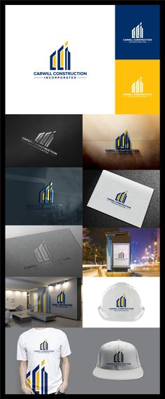 Create a construction company logo for CCI Design by : LibeyArt™