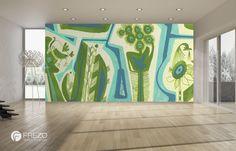 Ptasi Gaj Wall Design, Birds, Curtains, Shower, Wallpaper, World, Prints, Decor, Poster