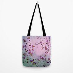 Vintage Little Flowers Tote Bag by victoriaherrera | Society6