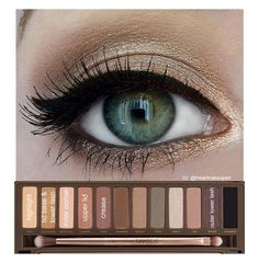 Using the Naked 2 pallet
