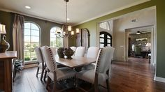 Dine luxuriously in your #separate #formal #dining #room at Enclave. #upholstery #diningchairs