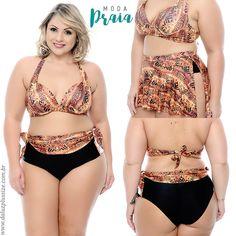 e253c5931 Moda Praia Plus Size - Coleção Alto Verão 2018 - www.daluzplussize.com.br