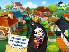 2015/43 – Dr Pandas Postbote die aktuelle App der Woche extra für Kinder und solche die es noch werden wollen. Aus der Reihe von Dr. Panda