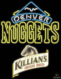 Killians Irish Denver Nuggets Neon Sign NBA Teams Neon Light