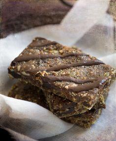 Raw Dried Cherry Walnut Cacao Energy Bars