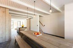 Eetruimte voor 10 tot 14 personen in Vakantiewoning Meerlaan 21 Belgische Kust | ZaligAanZee.be