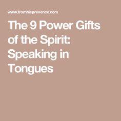 Speaking in Tongues Medical Study proves Holy Spirit praying