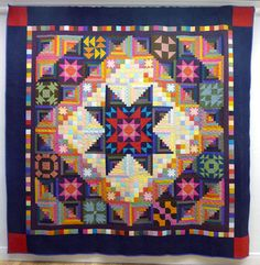 StitchCraft of Boca: Amish With a Twist 2 Block of the Month. Amische Quilts, Sampler Quilts, Star Quilts, Quilt Blocks, Quilting Projects, Sewing Projects, Quilting Ideas, Hexagon Quilt, Hexagons