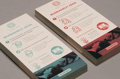 SmartYoga branding on Behance