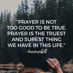 A better prayer life starts with believing God's Word and believing that He hears us when we cry out to him.