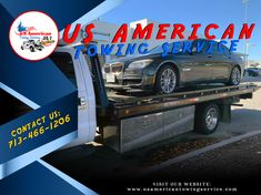US American Towing Service Flatbed Towing, Towing Company, Houston, Belts, Monster Trucks, American