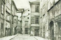 Meiselova ulice v pohledu od Staroměstského náměstí / Meiselova street view from the Old Town Square