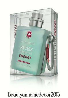 Victorinox Swiss Unlimited Energy by Victorinox Cologne Spray 5 fl.oz 150 ml.NIB #VictorinoxSwissUnlimitedEnergy