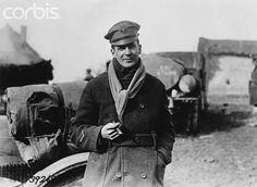Douglas MacArthur (1880-1964), during his command of the 42nd (Rainbow) Division in France during the First World War. Ca. 1917.