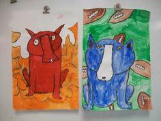 那个小美术老师:什么颜色是你的狗?