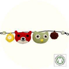crochet toys stroller rattle ♥