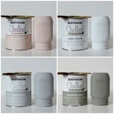 Rustoleum has come out with a chalk paint called Chalked. Looks like a beautiful finish.