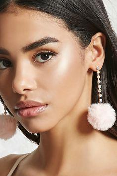 Pom Pom Duster Earrings
