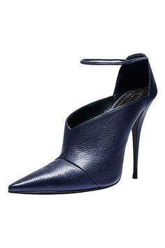 THE BAZAAR: Navy Reserve - Narciso Rodriguez shoe,  ShopBAZAAR.com.