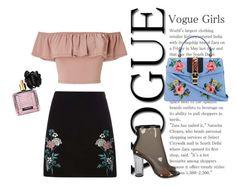 """Vintage Glam"" by oumaima-ettoumi on Polyvore featuring mode, Dorothy Perkins, Miss Selfridge, Victoria's Secret, Gucci et vintage"