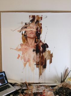 The Paintings of Cesar Biojo Juxtapoz Magazine &; The Paintings of Cesar Biojo Mirela Mus mirelamus_ Cool Paintings We are really enjoying the oil paintings […] Painting artists Cesar Biojo, L'art Du Portrait, Portraits, Portrait Paintings, A Level Art, Ap Art, Oeuvre D'art, Painting & Drawing, Drawing Drawing