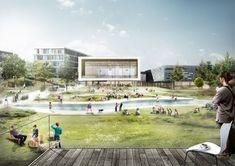 C. F. Møller gewinnen Wettbewerb in Kopenhagen / Business-Rambla für Frederiksberg - Architektur und Architekten - News / Meldungen / Nachrichten - BauNetz.de