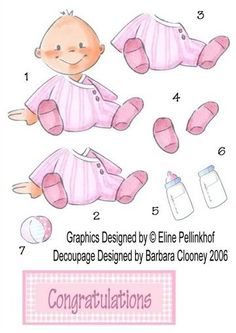 caron vinson fairies, and babys - linda statham - Picasa Web Albums Baby Girl Clipart, Baby Shower Clipart, Baby Scrapbook, Scrapbook Paper, Image 3d, 3d Sheets, Baby Clip Art, 3d Cards, 3d Prints