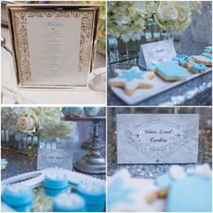 Winter Wonderland StationeryEvent by talented @kettydelights Signage by @jodesigns__ # menu #display #tentcards #custompapergoods #collaboration #yourexperiencematters #jodesigns