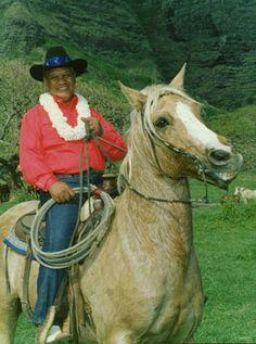 Paniolo Hawaiian Cowboy