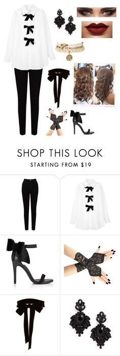 """""""BTS (방탄소년단) Blood Sweat and Tears (피 땀 눈물) Inspired Outfit"""" by park-sarang1 ❤ liked on Polyvore featuring EAST, See by Chloé, Miss Selfridge, Monique Lhuillier and Tasha"""