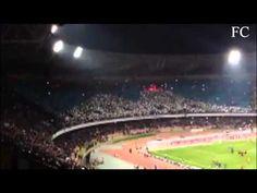 Coreografia Ultras Napoli vs Juve 01/03/2013 con Vesuvio