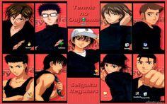 Prince of Tennis -- Seigaku Regulars