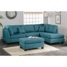3-Pcs Sectional Sofa Set F7607