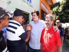 Fernando Filho visita bairros da periferia de Petrolina