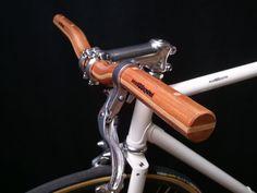 manillar de madera doble altura