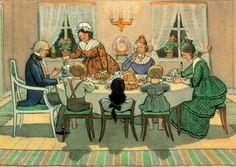 Elsa Beskow - Tante Brun, Tante Grøn og Tante Lilla, Hr. blå, Lotte og Per same Esmeralda og lille Prik