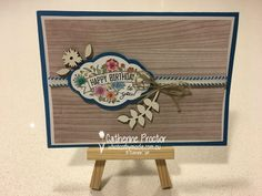 Art With Heart Blog Hop Favourite New Bundle New Catalogue, Diy Cards, Stampin Up Cards, Happy Birthday, Create, Label, Heart, Flowers, How To Make