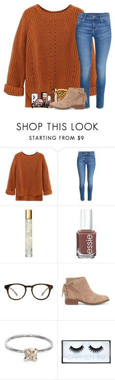 """""""Happy Thanksgiving!!! """" by kat-attack ❤ liked on Polyvore featuring WithChic, H&M, AERIN, Essie, Madewell, Sole Society, Rebecca Taylor, Huda Beauty and Smashbox"""
