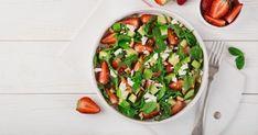 10 Slimming Salad Recipes for Summer - Pistachiu - Cuisine végétarienne - Salade Light Recipes, Raw Food Recipes, Cobb Salad, Cantaloupe, Potato Salad, Salsa, Gluten Free, Nutrition, Fruit