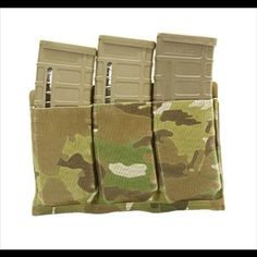 New Molle Triple Mag Pouch 3Color--Airsoft