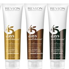 The first shampoo/conditioner specifically designed for colour treated hair, Revlonissimo fights fade to protect that freshly coloured feeling for up to 45 days after you've left the salon Revlon Professional, Mens Shampoo, Hair Shampoo, Skincare Packaging, Cosmetic Packaging, Aloe Vera, Food Packaging Design, Coffee Packaging, Bottle Packaging