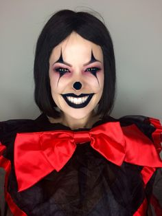 Awesome Halloween makeup, simple and easy costume by @makeupartist411