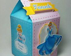 Caixa Milk - Cinderela