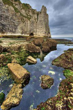 Natural beauty of Etretat, Haute-Normandie, France #France #beauty #travel