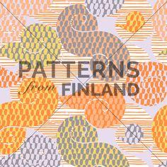 Kahandi Design: Rytmi – Kieppi #patternsfromagency #patternsfromfinland #pattern #patterndesign #surfacedesign #kahandidesign
